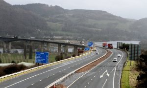 Rain-battered M90 leads to second crash on road in space of two hours