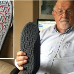 """I saw all these swastikas on the soles"" — Perth pensioner claims Amazon sold him Nazi slippers"