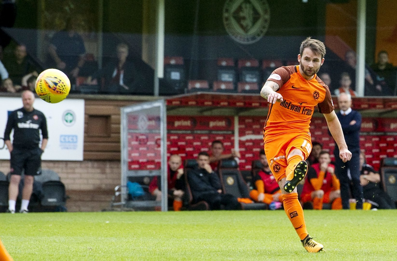 James Keatings scores the late leveller.