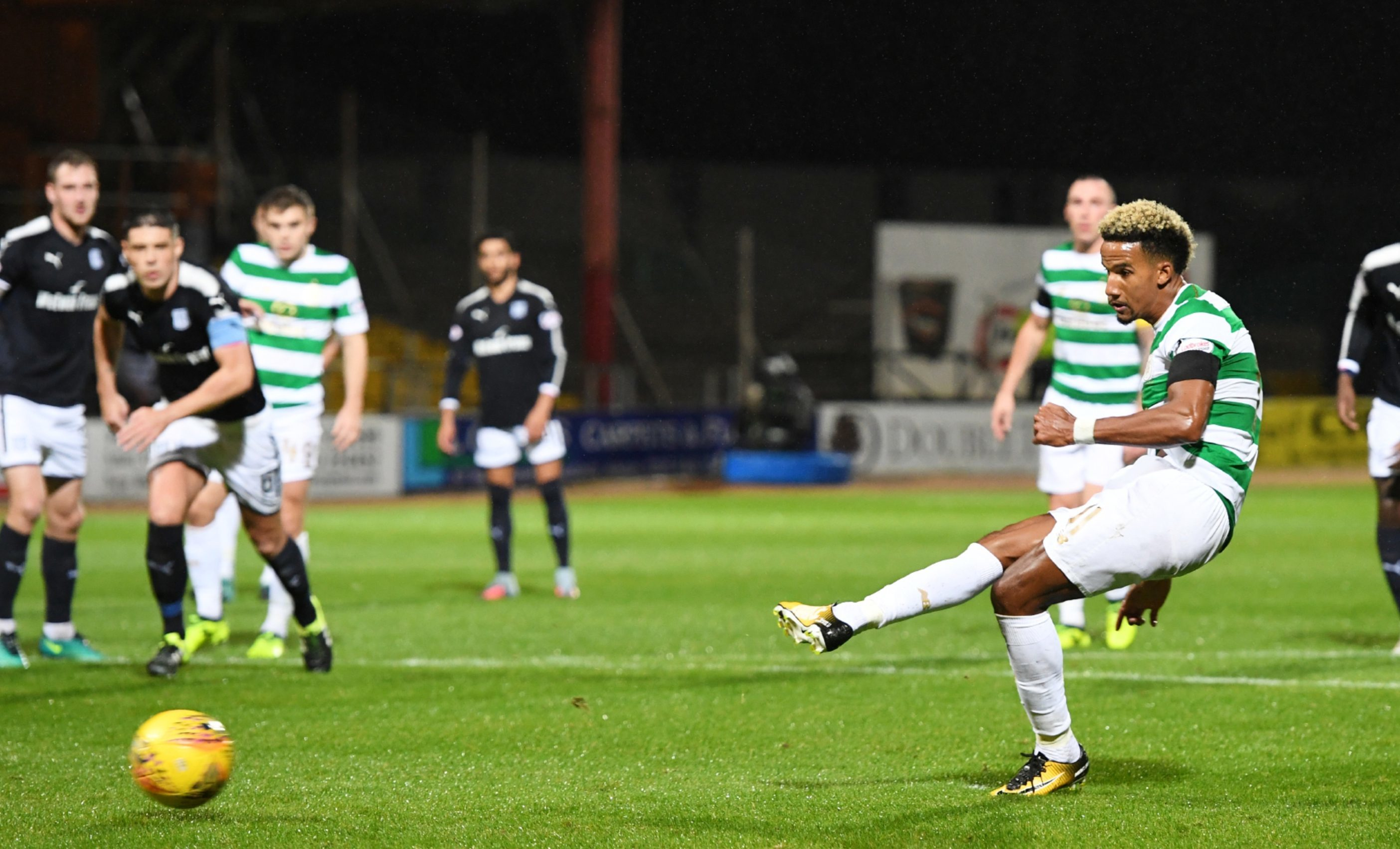 Scott Sinclair opens the scoring from the spot.