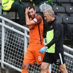 Another injury blow for Dundee United as Lewis Toshney damages ankle