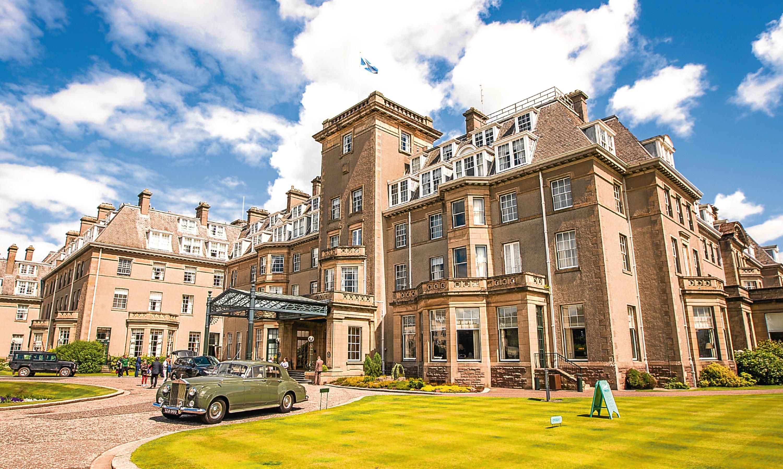 Gleneagles Hotel.