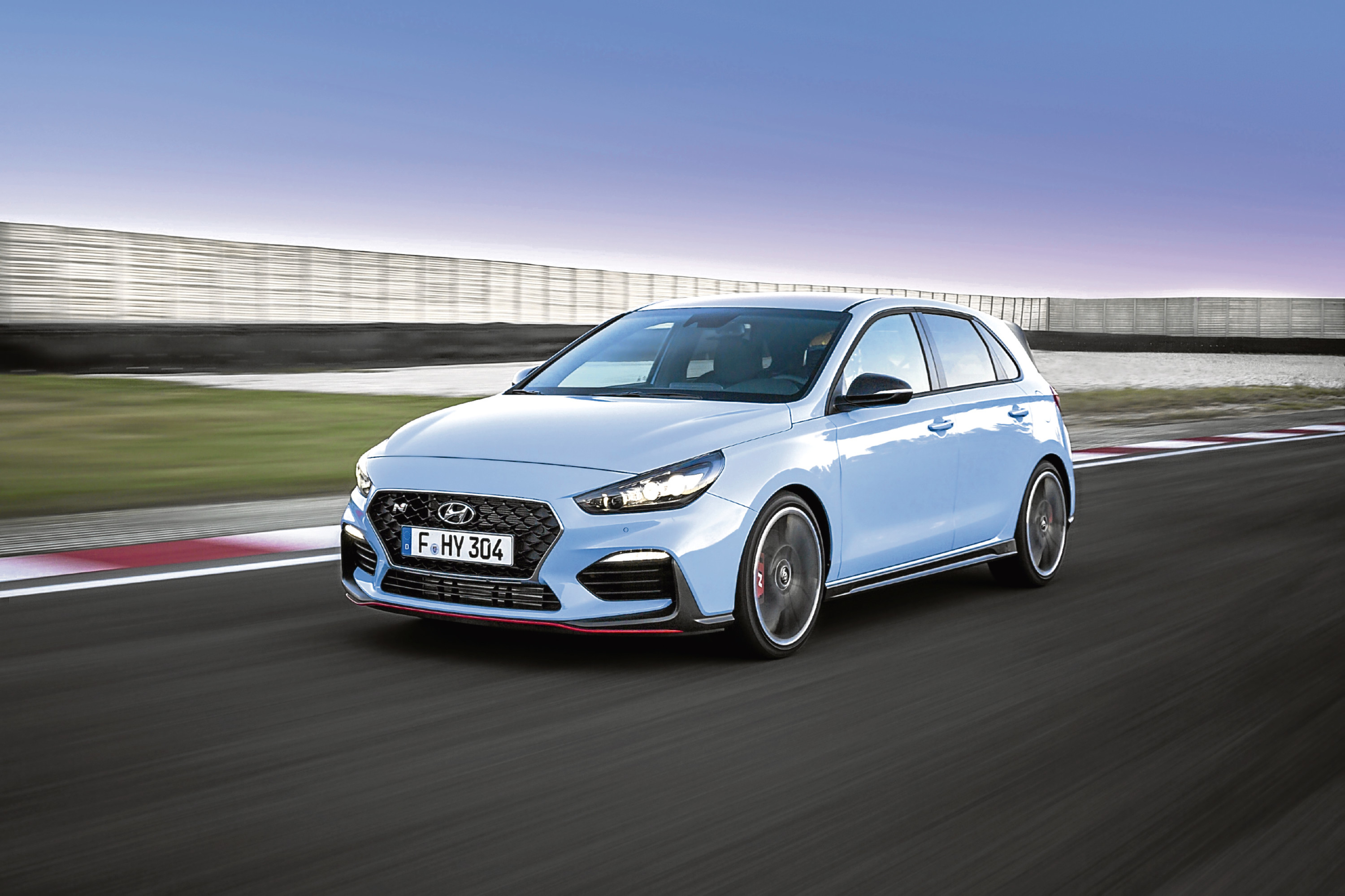 Undated Handout Photo: Hyundai reveals UK pricing and specification for i30 N hot hatch. See PA Feature MOTORING News. Picture credit should read: PA Photo/Handout. WARNING: This picture must only be used to accompany PA Feature MOTORING News.