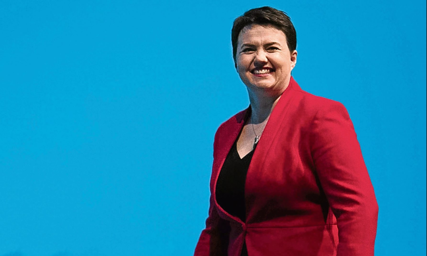 Ruth Davidson at the Conservative Party conference.