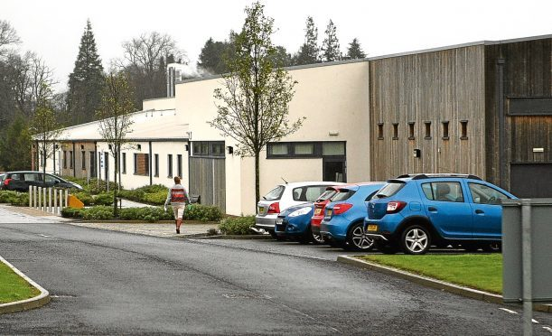 The Susan Carnegie Centre at Stracathro Hospital.