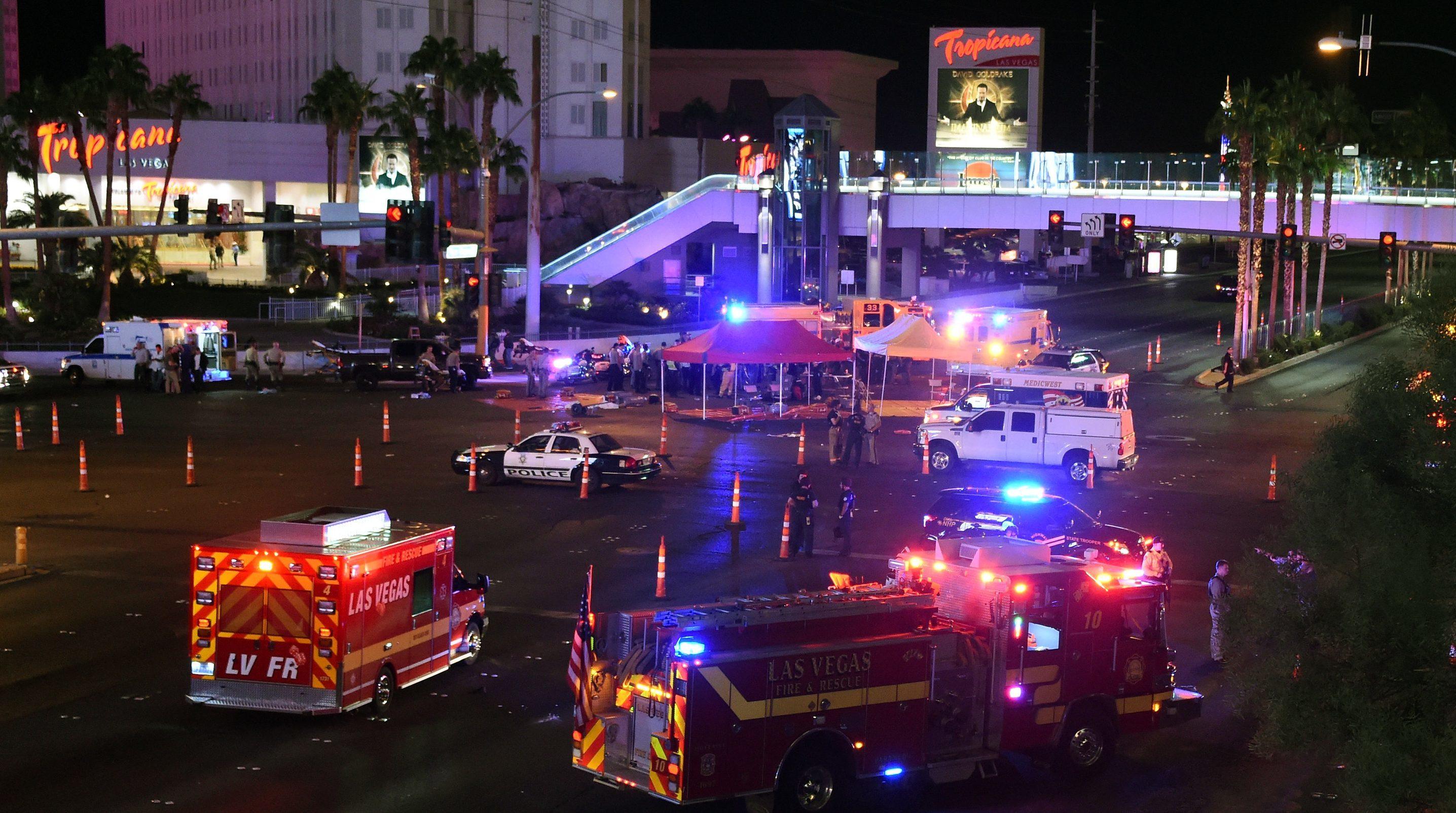Las Vegas shootings.