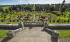 The gardens at Drummond Castle, which will play host to the event
