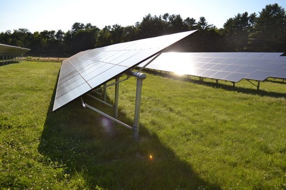Solar panels could well become a familiar sight across the fields of Fife.
