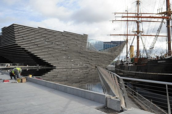 """Ms Short has """"no qualms"""" over the success of V&A Dundee"""