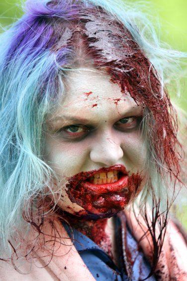 Zombie Catriona O'Rourke.