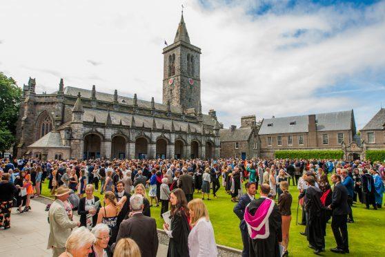 A summer graduation at the university
