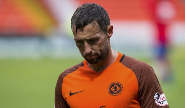 Dundee United's Scott McDonald.