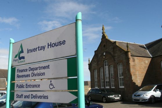 Campaigners have been working to try to secure Invertay House as a new community centre for Monifieth.