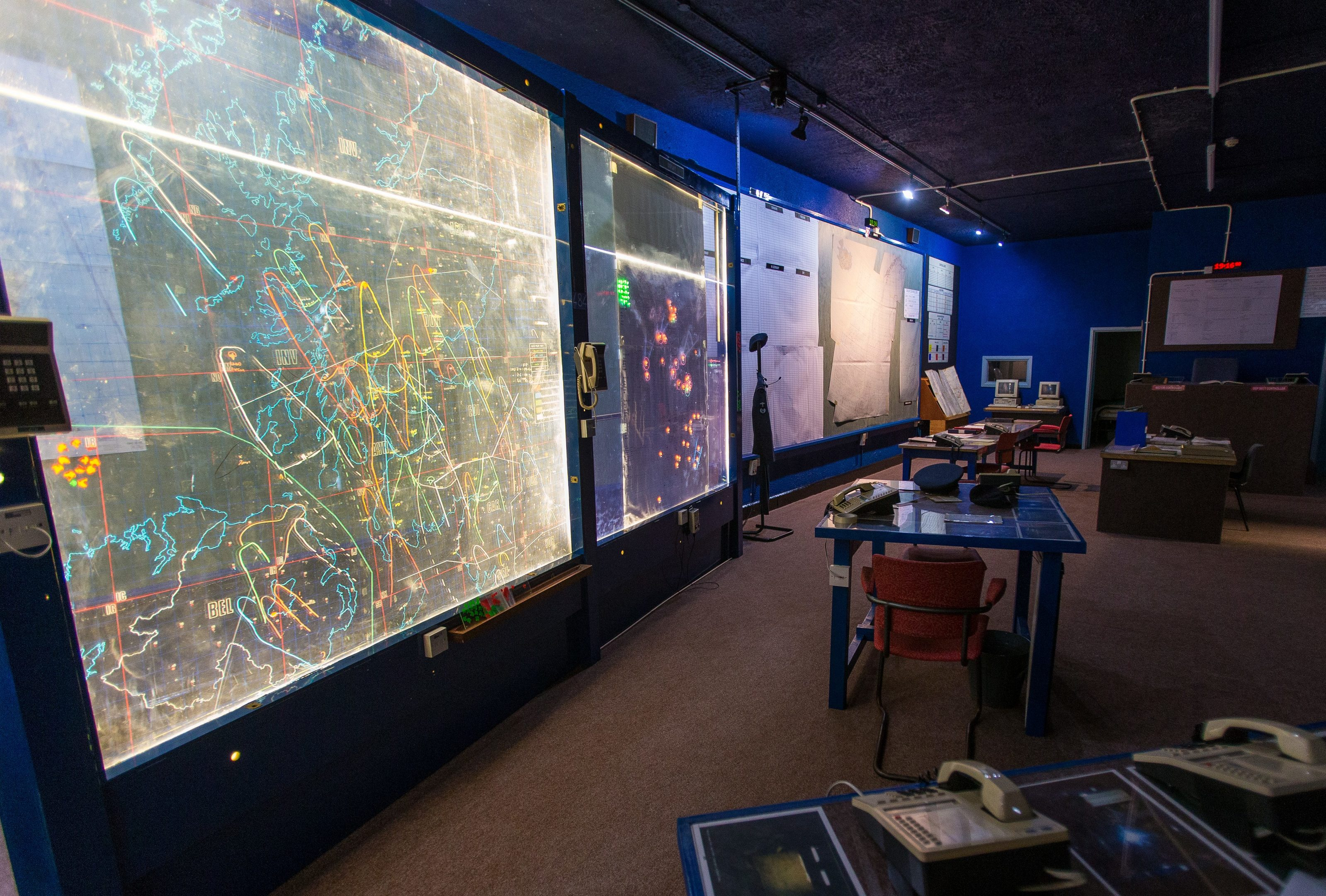 Map Of Uk Nuclear Bunkers.Video Take A Guided Tour Of The Secret Nuclear Bunker Buried Under