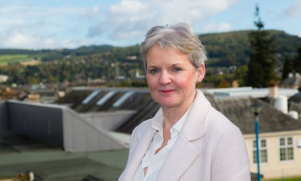 Perth and Kinross' newest councillor Audrey Coates