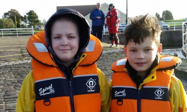 Benny and Struan.