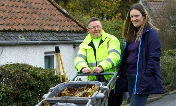 Granddaughter Helen McBain owes a 'debt of gratitude' to street sweeper Ian Young