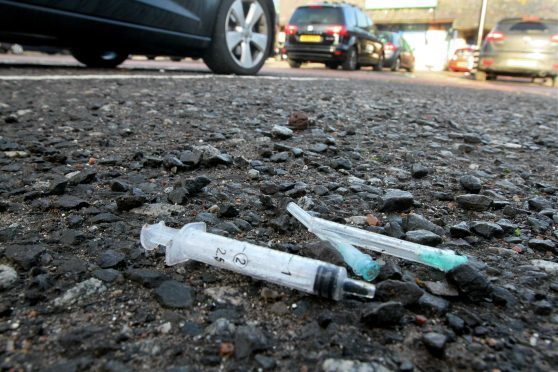 Syringes found in Main St car park.