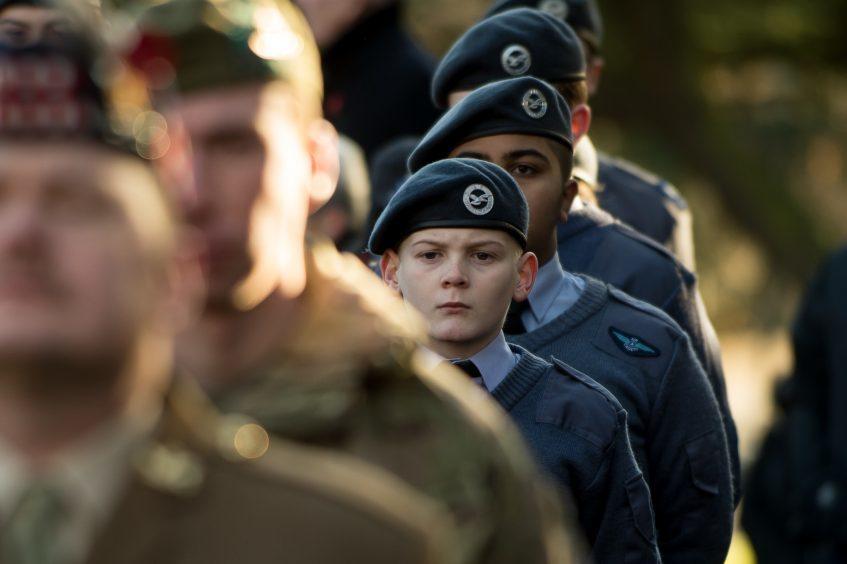 Kirkcaldy Remembrance service