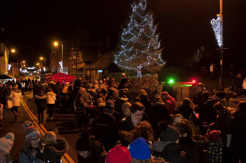 Carnoustie Christmas lights switch-on on Sunday.