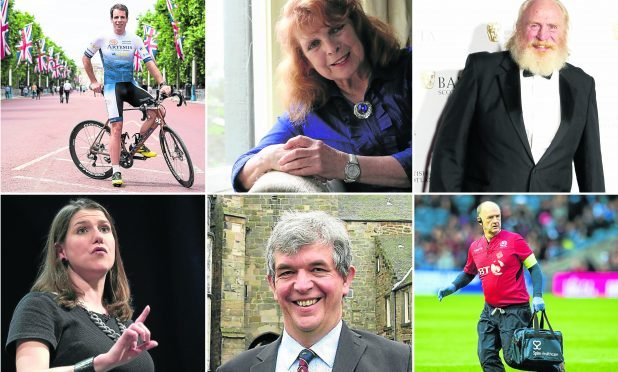 A few of the people who have been named in the 2017 New Years Honours list.
