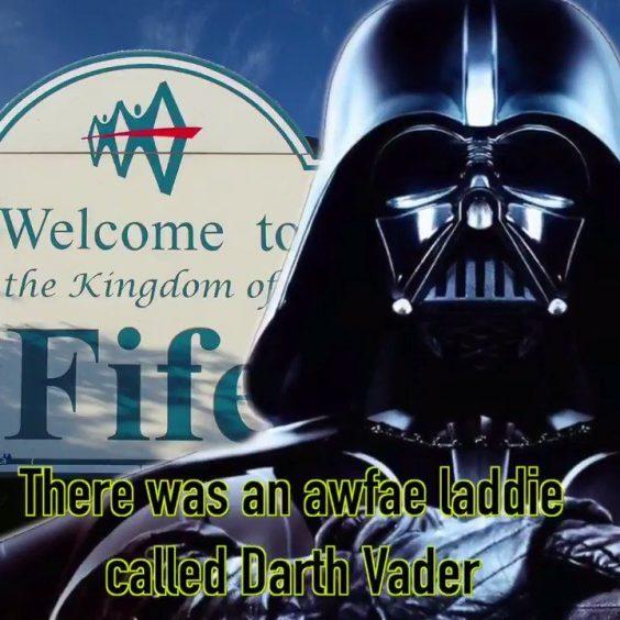 What if Darth Vader came fae Fife? Scottish comedian Jim Smith explored the idea on BBC Radio 4.