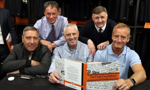 Our competition gives you the chance to win a rare signed copy of The Final Countdown from Jim McInally, John Holt, Dave Narey, Paul Hegarty and Dave Bowman.