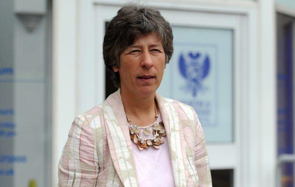 MSP Liz Smith.