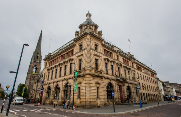 Perth and Kinross Council headquarters.