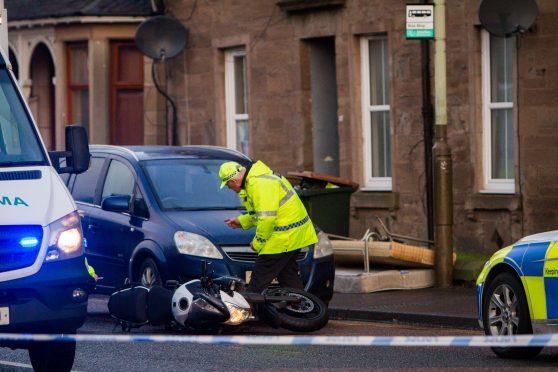 Police seek driver following tragic death of biker in Perth