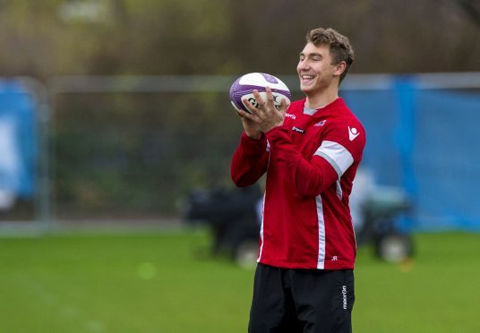 Edinburgh's Jamie Ritchie is one of several Strathallan old boys playing pro rugby.