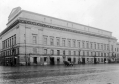 Shore Terrace, at the back of Caird Hall, in the 1920s.