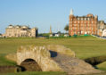 The Old Course in St Andrews.
