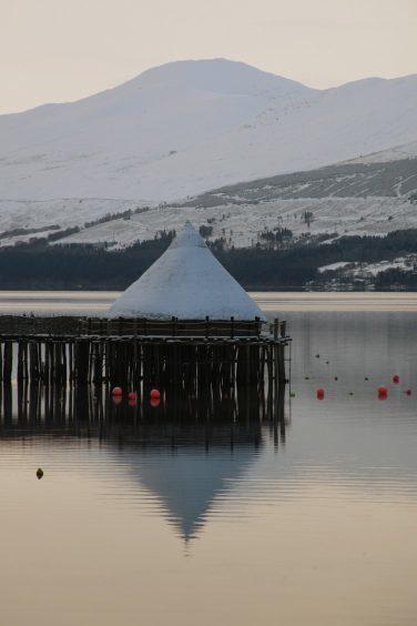 Wintry Loch Tay, December 2009.