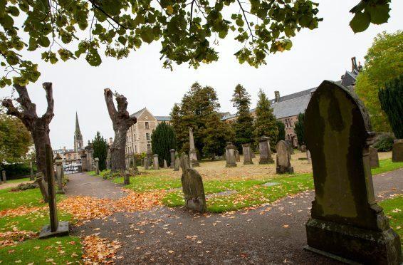 Greyfriars cemetery in Perth.