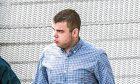 Pic Alan Richardson Dundee, Pix-AR.co.uk Ryan McEwan at Dundee court. See story Jamie Beatson