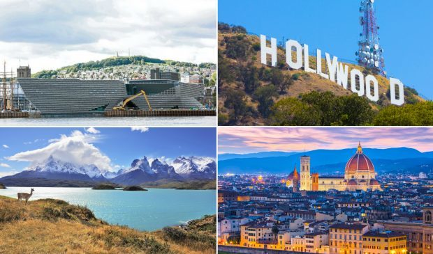 Dundee is named next to LA, Chilean Patagonia and Florence on the list.