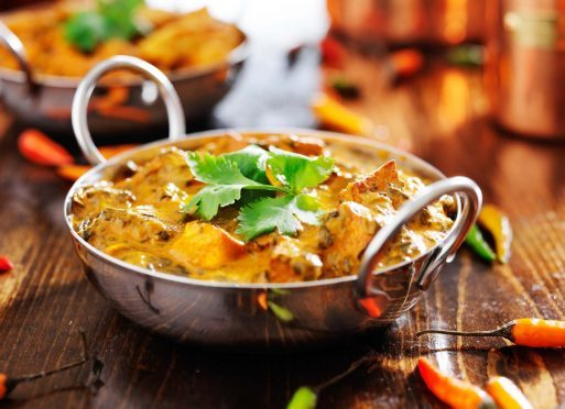 The curry dish failed to satisfy a Fife customer.