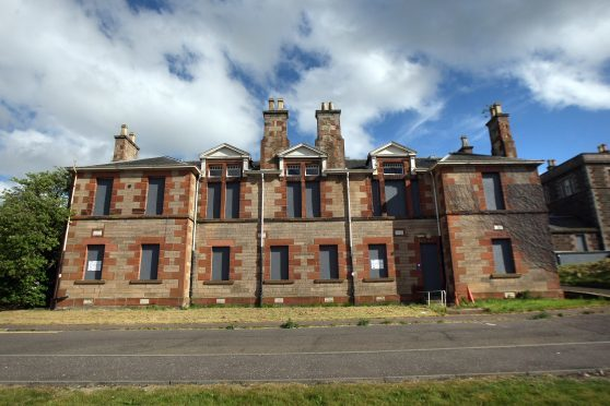 The old Murray Royal Hospital buildings.