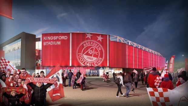Aberdeen new stadium plans get green light