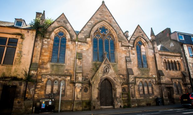The former St Andrew's and St Stephen's Parish Church on Atholl Street, Perth