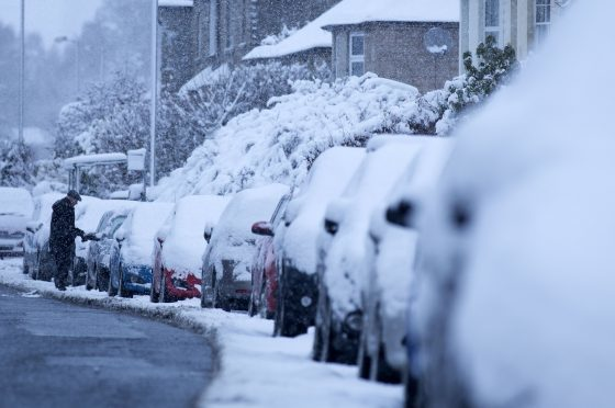 Locals were worried the man would be rough sleeping during some of the coldest weather in Fife for years.