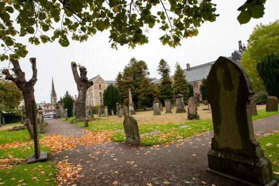 Greyfriars burial ground, Perth