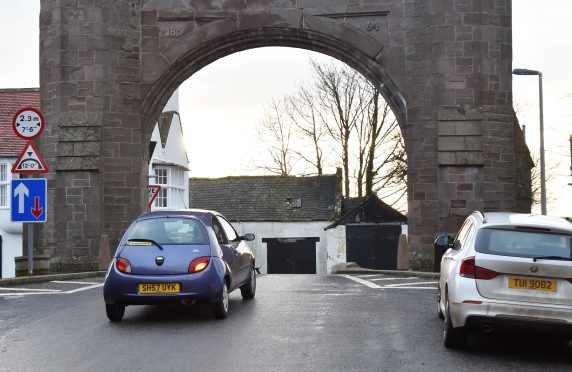 The Royal Arch at Fettercairn.