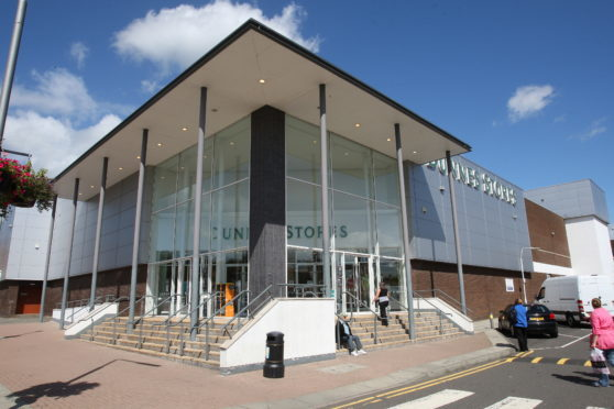 The Dunnes Stores in Glenrothes.