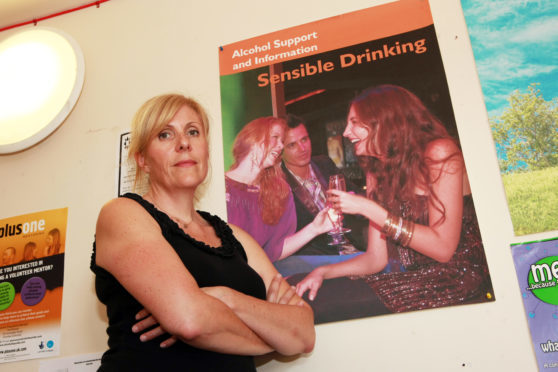 Kathryn Baker from Tayside Council on Alcohol