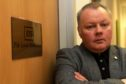David Farmer, Fife EIS publicity officer, pictured at the local EIS office in Kirkcaldy.