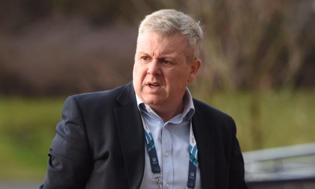 Scottish Golf chief executive Andrew McKinlay.