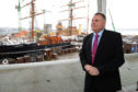 Mike Galloway, executive director of city development, has been one of the main figures behind the Dundee waterfront project.