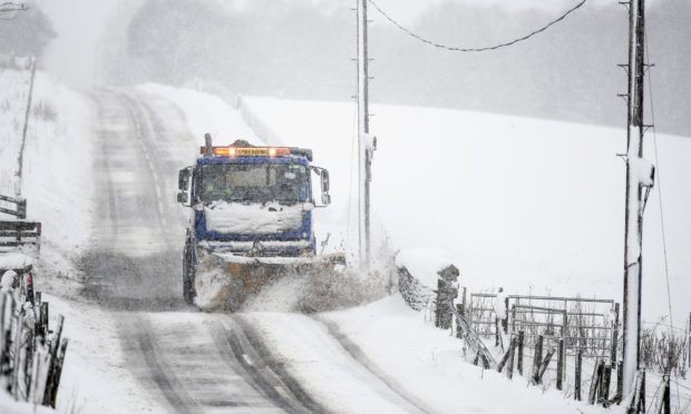 Police issue warning for drivers heading to Scotland's ski slopes this weekend